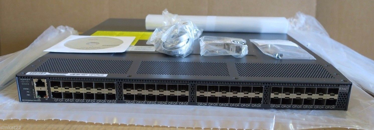 NEW Cisco DS-C9148-16P-K9 16 Port Active 8GBps MDS 9148 Multilayer Switch  1PSU